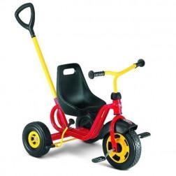 Tricicleta cu maner, Rosu, + 2, Puky