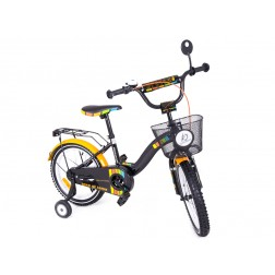 Bicicleta copii MyKids Toma Exclusive 1602 Orange