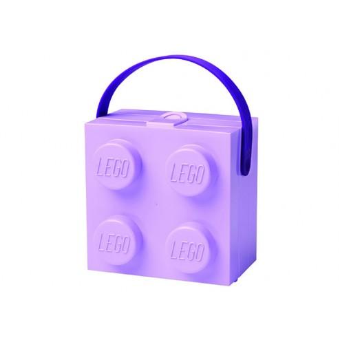 LEGO Cutie pentru sandwich 2x2 mov