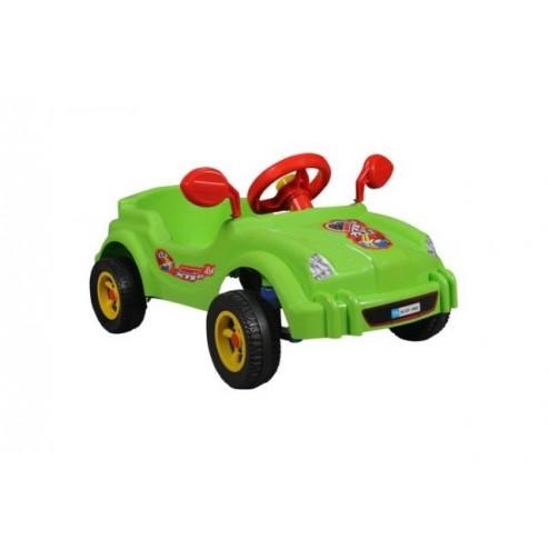 NOU! Masina cu pedale - Visul copiilor - verde