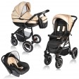Carucior Crooner 3 in 1 - Vessanti - Cream