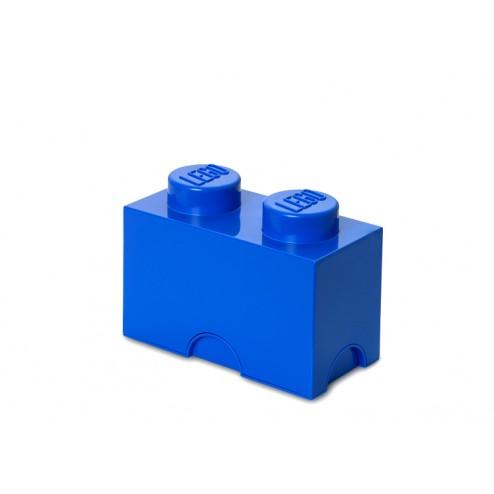 LEGO Cutie depozitare 1x2 culoare Albastru închis