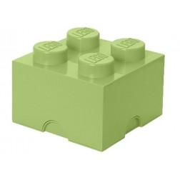 Cutie depozitare LEGO 2X2 verde galbui (40031748)