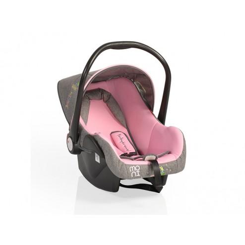 Cosulet Auto Bebelusi MONI Babytravel Pink