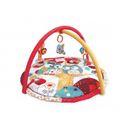Covoras de joaca pentru bebelusi Baby Mix 3367-4992 Owl