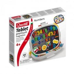 Joc creativ Quercetti tablita Premium magnetica cifre 64 piese