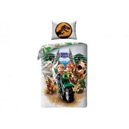 Lenjerie de pat LEGO Jurassic World (LEGO-749BL)
