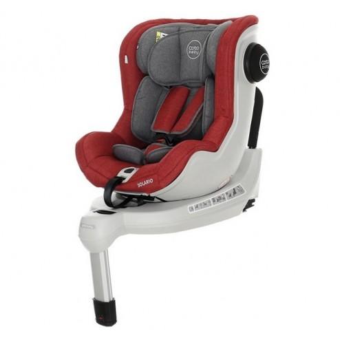 Scaun auto cu Isofix Solario - Coto Baby - Melange Rosu