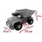 Camion basculant Carrier galben Super Plastic Toys