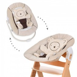 Sezlong Alpha Bouncer 2 in 1 Hearts Beige