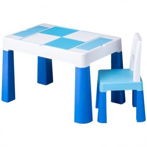 Set masuta cu scaun Multifun, Tega Baby, Albastru