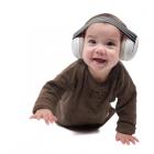 Casti antifonice pentru bebelusi ALPINE Muffy Baby Black ALP25613