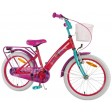 Bicicleta pentru copii fetite Trolls Volare 18 inch cu roti ajutatoare