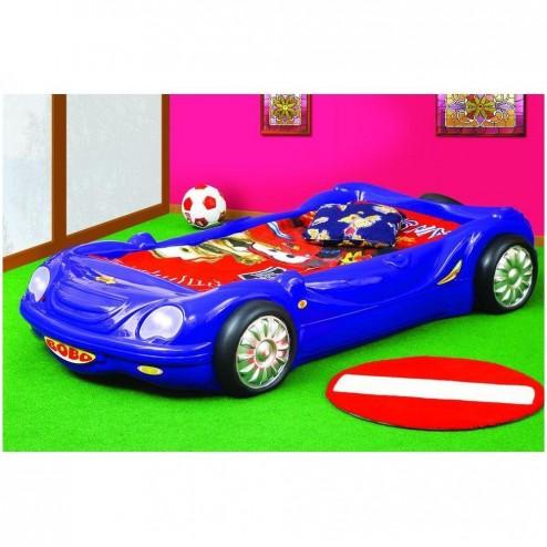 Patut Bobo Car - Plastiko - Albastru