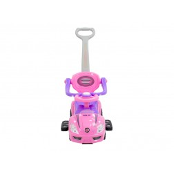 Masinuta de impins copii 3 in 1 Baby Mix URZ381 Roz
