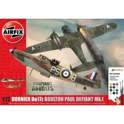 Airfix Set 2 avioane Boulton Paul Defiant Mk.1 si Dornier Do17z scara 1:72