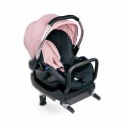 Scaun Auto şi Bază Comfort Fix Set Pink Grey
