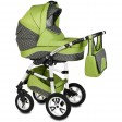 Carucior Flamingo Easy Drive 3 in 1 verde - Vessanti