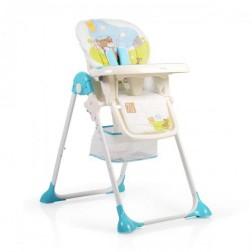 Scaun de masa copii Hunny Albastru Cangaroo