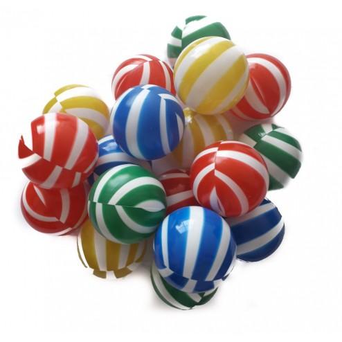 Set 100 bile Colour Stripes