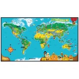 Harta interactiva a Lumii TAG / LeapReader
