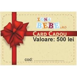 Voucher cadou, valoare 500 ron