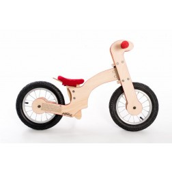 Bicicleta de balans Pipello Lilly Rosu - MyKids