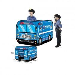 Cort de joaca tip masina de politie
