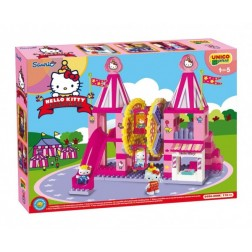 Set cuburi constructie Carusel Hello Kitty Unico