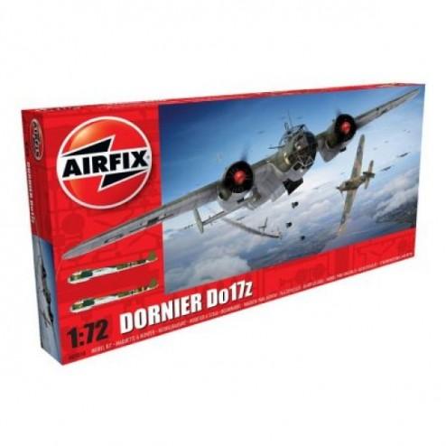 Kit aeromodele Aorfix 5010 Avion Dornier Do17z Scara 1:72