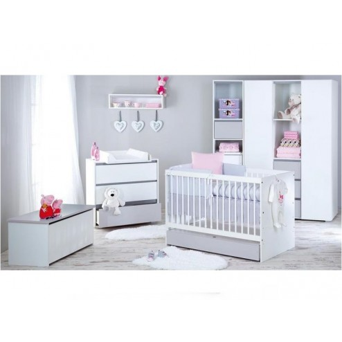 Mobilier Camera Copii Si Bebelusi KLUPS DALIA Gri
