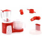 Set de plastic compus din blender, mixer si storcator de fructe cu 2 viteze - Globo