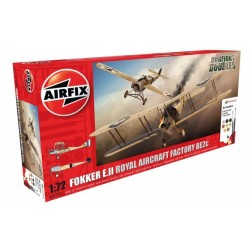 Kit constructie Airfix set Fokker E.II/BE2C Dogfight