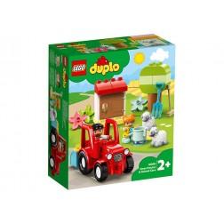 LEGO DUPLO Tractor si animale de la ferma