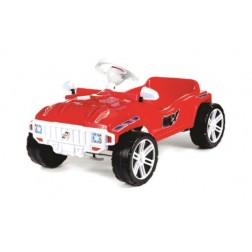 Masinuta cu pedale - rosu