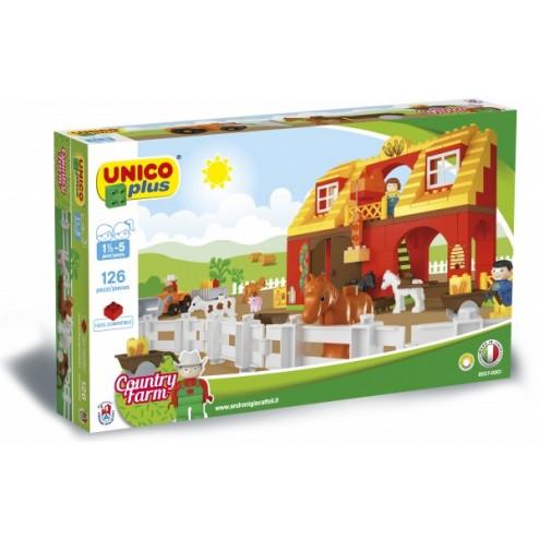 Set constructie Plus Set ferma - Unico