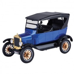 MACHETA  AUTO FORD MODEL T – TOURING 1925 SCARA 1:24, MOTORMAX
