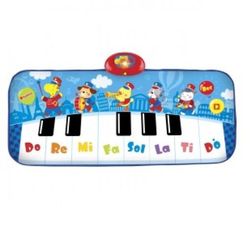 Covoras muzical pentru copii Winfun Fanfara cu animale tip pian cu 8 clape