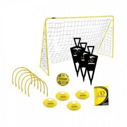 Set fotbal MVS cu poarta, minge si jaloane