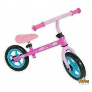 Bicicleta fara pedale copii Saica Hello Kitty