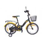 Bicicleta copii Toma Exclusive 1602 Portocaliu MyKids