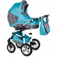 Carucior Flamingo Easy Drive 3 in 1 turcoaz - Vessanti