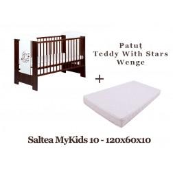 Patut KLUPS Teddy with Stars Wenge + Saltea MyKids 10