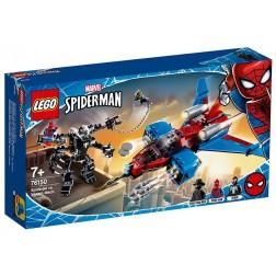 Spiderjet contra Robotul Venom (76150)