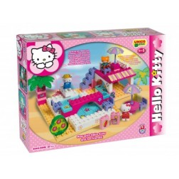 Set constructie Plus Hello Kitty La piscina - Unico