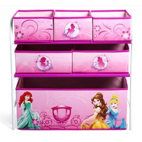 Organizator jucarii cu cadru metalic Disney Princess