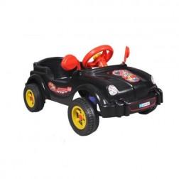 Masinuta neagra cu pedale, Visul copiilor - Guclu Toys
