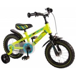 Bicicleta pentru baieti 12 inch, cu roti ajutatoare, Volare Yipeeh