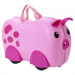 Animal cu roti tip Valiza pentru bagaje Porcusor