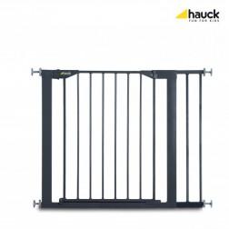 Poarta Siguranta cu Extensie Close'n Stop + 21 cm Charcoal - Hauck